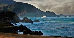October15Image3001 (Michael T. Morales) Tags: bigsurcoast bigsur clouds waves rockformations hurricanepoint highwayone