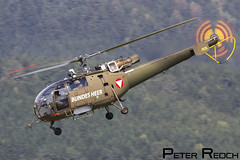 3E-KH / Austrian Air Force / SA-316B Alouette III (Peter Reoch Photography) Tags: austrian austria air force combat military armed forces aviation aircraft show airshow flying display zeltweg base airpower airpower16 alouette iii helicopter