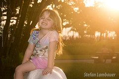 Catharina (Stefan Lambauer) Tags: catharina sunset gonzaga pordosol sun kid infant smile happy stefanlambauer 2016 brazil santos br praiadogonzaga