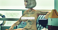 SUPER GIFT! Vintage tattoo (male and female) is the gift of the week! (THIS IS WRONG - tattoo design & clothes) Tags: free freebie tattoo ink promo sale gift week super applier maitreya belleza slink male female signature gianni