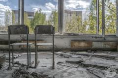 Tschernobyl / Chernobyl (Sichtweisen_CB) Tags: tschernobyl chernobyl prypjat abandonedplace abandoned abandonar alt abbandonato atom akw atomreaktor architektur verlassen verlassenerort verfallen vergessen verlaten verlatenplaats stuhl chair rotten rottenplace radioaktiv rusty rost rostig ruine decay dilapidated dster dark urban urbanexploring urbex urbanexploration ue ukraine lostplace lost marode