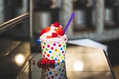 Raspberry Tart II (sirrahpics) Tags: coffee yogurt locally owned frozenyogurt locallyowned waffles salemva roanokeva swva southwest southwestvirginia downtownsalem