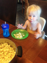 20151006_Shannon_phone_0032.jpg (Ryan and Shannon Gutenkunst) Tags: codygutenkunst diningtable popcorn snack snacktime waterbottle tucson az usa