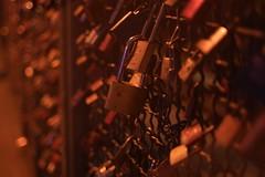 Cologne After Dark I (FotodioxPro) Tags: germany cologne afterdark night nightshot fotodiox fotodioxpro samsungnx1 nx1 konica40mmf18 vintagelens retrolens konica photokina2016 lensadapter konicaar konicaartonx nxmount lock love truelove padlock fence bridge
