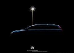 Volvo V70 (jksphoto1) Tags: volvo lightpainting v70 night afterdark nikon nikond610 d610