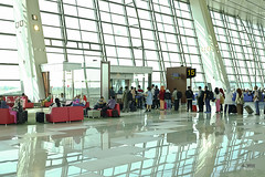 Lounge by the gate (A. Wee) Tags: jakarta  indonesia  airport  cgk soekarnohatta terminal3