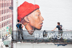 G- Star (Always Hand Paint) Tags: m135 gstar progress ooh outdoor colossalmedia alwayshandpaint skyhighmurals advertising colossal handpaint mural muraladvertising urbanfashion