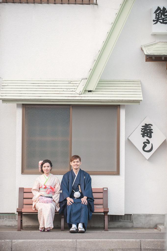 日本北海道婚紗,函館婚紗,和服婚紗,日式風格婚紗,海外婚紗