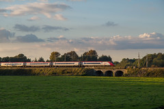 390 to Euston (Hope Trains) Tags: 390 littlehaywood wcml westcoastmainline stafford meadowlane bridge virgintrains pendolino railwaystation railway