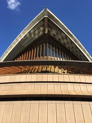 Angles (jmendozza) Tags: darlingharbour circularquay iphone6 iphone nofilter triangle angles architecture outdoor straya historical history building abstract harbourbridge traingle angle art musical music australia nsw sydney theatre opera operahouse
