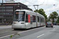 Rheinbahn 3323 [Dusseldorf tram] (Howard_Pulling) Tags: dusseldorf tram august 2016