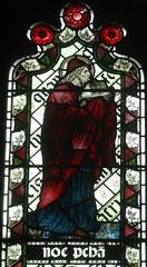 [45590] St Editha, Tamworth : Noah (Budby) Tags: tamworth staffordshire church window stainedglass preraphaelite