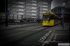 ManchesterVictoria2016.10.09-10 (Robert Mann MA Photography) Tags: manchester manchestervictoria manchestercitycentre greatermanchester england victoria victoriastation manchestervictoriastation manchestervictoriarailstation victoriarailstation city cities citycentre architecture summer 2016 sunday 9thoctober2016 manchestermetrolink metrolink trams tram nightscape nightscapes night light lighttrails