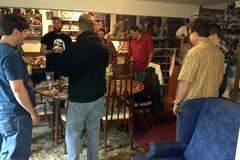 Cheesehead Meeting (Darth Ray) Tags: wisconsin star wars cheesehead garrison meeting madison