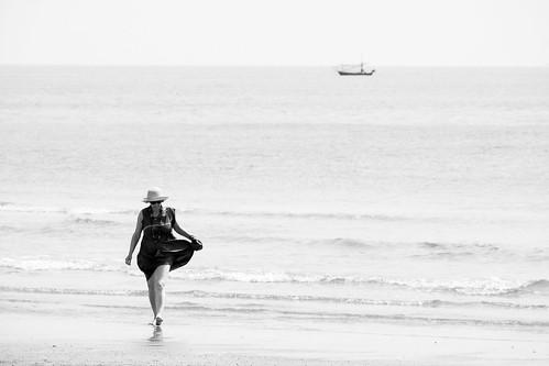 Claudine va quelque part, Hua Hin, Thailand, 2015