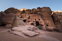 Petra burials - Jordan (M. Khatib) Tags: flikrtravelaward petra jordan desert burial ancient antiquities unesco heritage flickrtravelaward