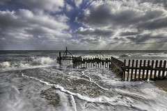 Hembsy Beach - Norfolk Coast (davebyford01) Tags: beach storm waves groyne seadefence cloudscape seascape hemsby norfolk england davebyfordphotographycouk