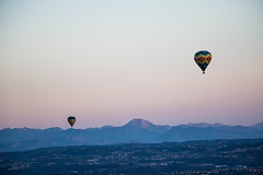 Hot air balloons in Del Mar (photosic_kw24) Tags: hot air balloon arial delmar california sandiego mansion mansions