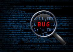 Software Bug (mccormickexo) Tags: bug debugging debug development softwaredevelopment computer code software binary magnifyingglass discover scan metal glass diagnostics cyber futuristic