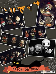 Halloween obsession (Br322) Tags: halloween snowglobes pops nightmarebeforechristmas