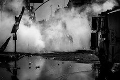 Tear gas, water cannons, and riot police. (etralik.photography) Tags: delete5 delete2 delete6 delete7 save3 delete3 delete delete4 save save2 deletedbythedeletemeuncensoredgroup