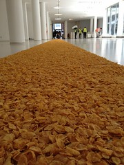Cornflake Carpet at RCA (Ben Terrett) Tags: rca noticings