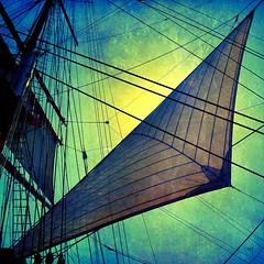 Sail On (Dominique Guillochon) Tags: california usa port harbor sandiego sails rigs sailingship downtownsandiego sailon dominiqueguillochon starofindiasailingship