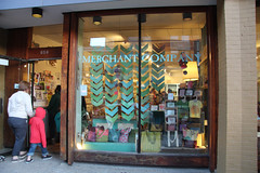 Merchant Company window (elizajanecurtis) Tags: portland kitten maine portlandmaine shopwindow shopwindows displaywindow congressstreet themerchantcompany themerchantco