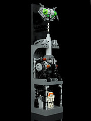 Space Invaders (TheDarkblane) Tags: lego spaceinvaders minifigs collectable battlemech eurobricks