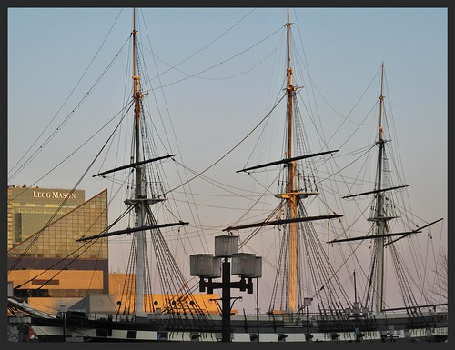 Baltimore Inner Harbor ~ USS Constellation