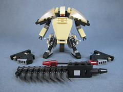 Armaments profile (Messymaru) Tags: original infantry robot lego grunt mecha mech moc