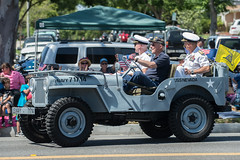 Willys Jeep (mark6mauno) Tags: nikon day jeep nevada duty parade annual nikkor uss forces willys 1946 ussnevada armed torrance 54th d4 bb62 70200mmf28gvr 2013 nikond4 54thannualtorrancearmedforcesdayparade