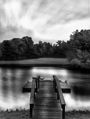 DSC_4827-Resized (nextelbuddy) Tags: longexposure blackandwhite bw lake seascape clouds landscape nikon peace 14 sigma calm dslr 50 hitech bigstopper leebigstopper