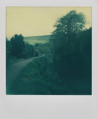 Brecon and Monmouthsire Canal (L. McG.-E.) Tags: film polaroid sx70 instant analogue px70 impossibleproject colorprotection