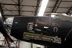 Handley Page Halifax III (Sparky the Neon Cat) Tags: york uk england museum plane europe britain air yorkshire united iii great north kingdom yam page gb friday halifax bomber 13th handley elvington
