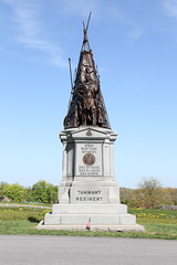 "Gettysburg National Military Park - 42nd New York Infantry ""Tammany Regiment"" Monument (Itinerant Wanderer) Tags: nps pennsylvania gettysburg nationalparkservice adamscounty americancivilwar"