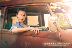 Car Culture (...spendlove...) Tags: sunset bus beauty vw truck volkswagen model photographer naturallight hotrod rockabilly oldcars greaser ratrod vivalasvegas carculture oldtrucks lifestylephotographer 1949chevy rustqueen