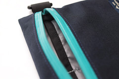 Flat Pouch Aqua 07 (Imagery Bags) Tags: zipper ykk waterresistant flatpouch drypouch