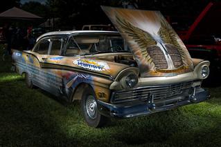 1957 Ford Fairlane (2016 Weaverville Lions Club Annual Classic Car Show)