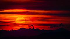 Interstellar! (grahamrobb888) Tags: nikond800 sun sf red night cloud sigma400mm hdr photomatix
