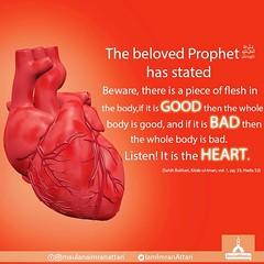 Good person, bad person (DawateIslami) Tags: prophet good baad heart piece flesh body allahislam haji imran attari maulanaimranattari iamimranattari dawateislami