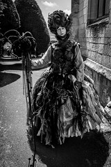 Grande Dame (Ruth Flickr) Tags: acp arts england festival gloucestershire painswick uk art churchyard clothes fashion fun summer village wearable