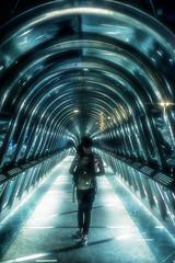 The passenger (Photo-LB) Tags: surraliste abstrait paris streetphoto lumire eau tunnel passager thepassager nikon d800 nikon58afs france capitale streetpassionaward