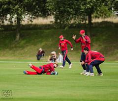 Jersey vs Guernsey Cricket Inter Insular (Jonathan Huelin) Tags: cricket sport jersey guernsey nikon d5100 fielding people grainville batting
