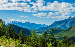 cheakamus river valley from tantalus lookout - BC, canada (Russell Scott Images) Tags: canadianrockymountains britishcolumbia canada bc cheakamusrivervalley tantaluslookout