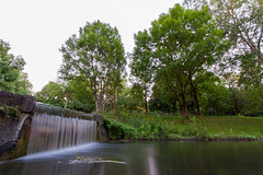 Waterfall - Westpark, Munich (mistermo) Tags: munich mnchen nature natur wasser city munichcity longexposure lanzeitbelichtung ndfilter westpark photography art canon canoneos50d