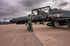 Maintenance checks (David Fullwood) Tags: fairford rias airshow aircraft checks maintenance aircrew grounded