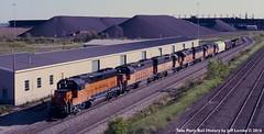 Milwaukee Road Train on the Duluth Transfer Railway (Twin Ports Rail History) Tags: twin ports rail history by jeff lemke time machine duluth minnesota transfer railway milwaukee road