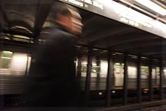 Hustle and Bustle (juliekrugerart) Tags: trail girl julie kruger photography new york manhattan motion hustle bustle nikon d810 metropolitan museum brooklyn bridge grand central station taxis world trade center subway