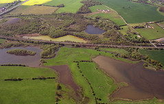John Ball aerial photo library (Warwickshire Wildlife Trust) (Warwickshire Wildlife Trust) Tags: alvecotepoolsnl arablefarmland coventrycanal geotagged pasturefarmland ponds south westcoastmainlinewcml znotrecorded warwickshire england